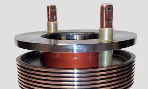 High power slip rings